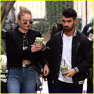 Joe Jonas & Sophie Turner Rock Coordinating Outfits in L.A.