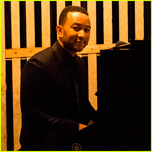 Watch John Legend Sing Stevie Wonder's 'Signed, Sealed, Delivered' in an Elevator! (Exclusive Video)