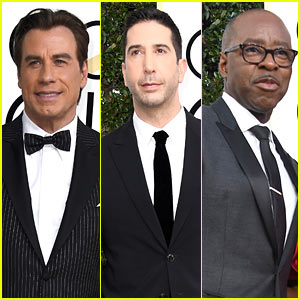 John Travolta, David Schwimmer, & Courtney B. Vance's 'People v. O. J. Simpson' Takes Home Golden Globe
