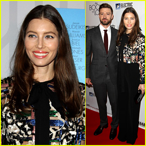 Justin Timberlake Supports Jessica Biel at 'Book of Love' Premiere!
