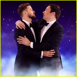 Justin Timberlake & Jimmy Fallon Dance Into the Stars During Golden Globes Cold Open!
