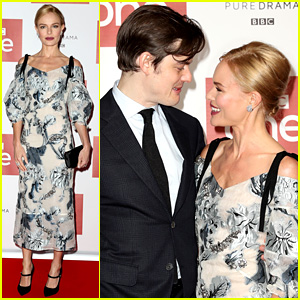 Kate Bosworth Premieres New Series 'SS-GB' with Sam Riley!