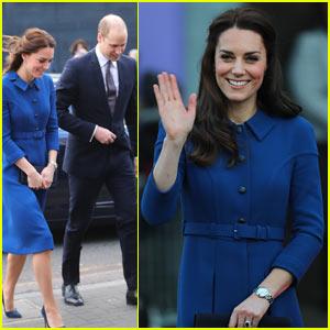 Kate Middleton Stuns While Visiting Children's Center