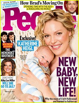 Katherine Heigl Debuts Baby Boy Joshua Jr.!