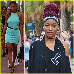 Keke Palmer Celebrates New Year In Miami