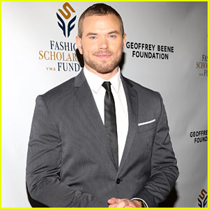 Kellan Lutz Attends Fashion Scholarship Awards Dinner in NYC