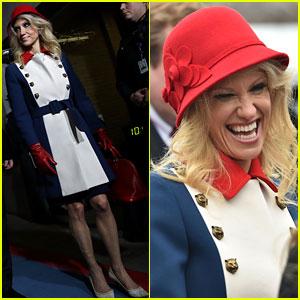 Kellyanne Conway Calls Inauguration Look 'Trump Revolutionary Wear'