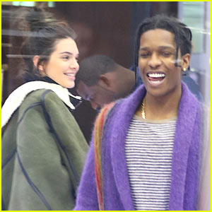 Kendall Jenner & Rumored Boyfriend A$AP Rocky Go Shopping in NYC