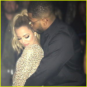 Khloe Kardashian Gives Fans a Look at Her New Year's Kiss!