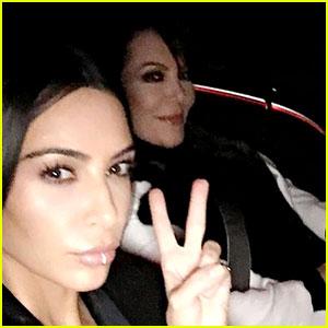 Kim Kardashian Shares First Selfie in Months!