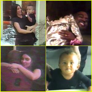 VIDEO: Kim Kardashian Shares Sweet Family Footage of Kanye West & Their Kids