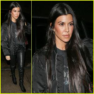 Kourtney Kardashian Dances With On-Again Beau Scott Disick