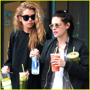 Kristen Stewart & New Girlfriend Stella Maxwell Grab Smoothies in LA
