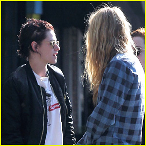 New Couple Kristen Stewart & Stella Maxwell Enjoy a Casual Day in Los Feliz