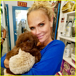 Kristin Chenoweth Adopts a New Dog - Meet Thunder!