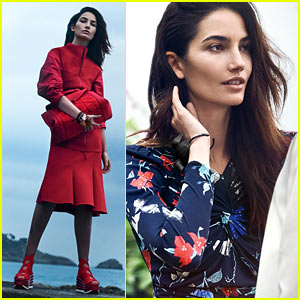VIDEO: Lily Aldridge Models Salvatore Ferragamo in 'Mediterranean Dreamscape'