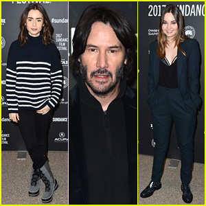 Lily Collins, Keanu Reeves, & Liana Liberato Debut 'To The Bone' at Sundance 2017!