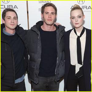 Logan Lerman & Blake Jenner Bring 'Sidney Hall' to Sundance