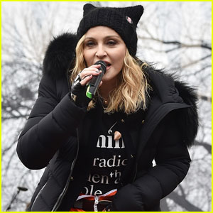 Madonna Clears Up Women's March Comments About Blowing Up The White House
