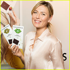 Maria Sharapova Introduces Yummy New Sugarpova Chocolates!