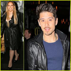 VIDEO: Mariah Carey Gives Bryan Tanaka a Lap Dance on Tour