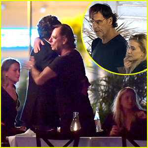 Mary-Kate & Ashley Olsen Grab Dinner with Their Beaus!