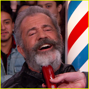 VIDEO: Mel Gibson Gets His Beard Shaved Off On 'Jimmy Kimmel Live'!