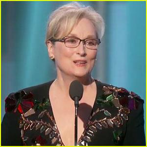 VIDEO: Meryl Streep Slams Donald Trump in Powerful Golden Globes 2017 Cecil B DeMille Speech