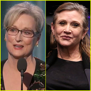 VIDEO: Meryl Streep Emotionally Pays Tribute to Carrie Fisher at Golden Globes 2017
