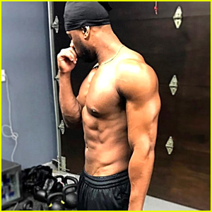 Michael B. Jordan's Body Is Ridiculously Ripped in New Shirtless Photo!