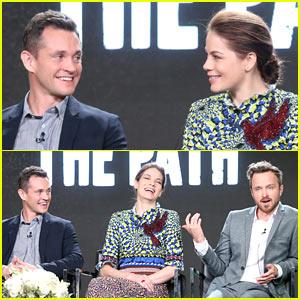 Michelle Monghan, Hugh Dancy, & Aaron Paul Bring 'The Path' to TCA 2017