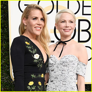 Michelle Williams & Busy Philipps Are Bestie Dates at the Golden Globes