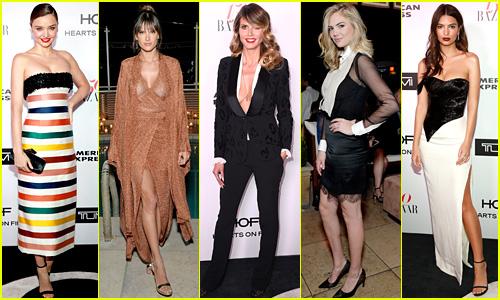 Miranda Kerr, Alessandra Ambrosio, & More Models Slay at Harper's Bazaar's Most Fashionable Women Event!