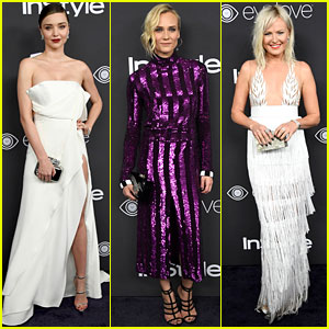 Diane Kruger & Miranda Kerr Bring Their Fashion A-Game to Golden Globes After Party 2017