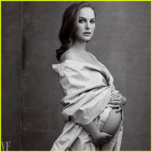 Natalie Portman Shows Bare Baby Bump in Stunning 'Vanity Fair' Image