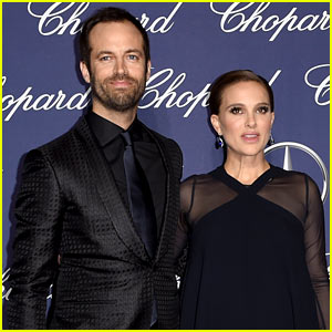 Pregnant Natalie Portman Has Date Night With Benjamin Millepied at Palm Springs International Film Festival