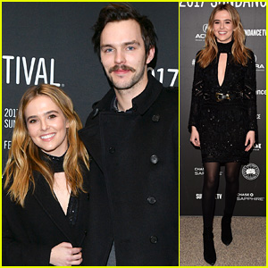 Nicholas Hoult & Zoey Deutch Debut 'Rebel in the Rye' at Sundance 2017!