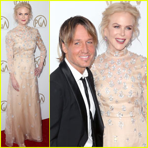 Nicole Kidman & Keith Urban Couple Up for Producers Guild Awards 2017