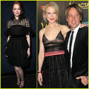 Nicole Kidman & Keith Urban Couple Up at AACTA International Awards