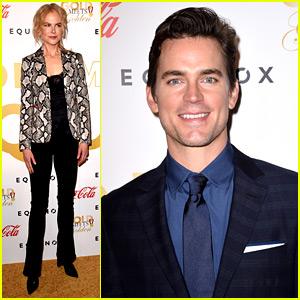 Nicole Kidman & Matt Bomer Mingle with Athletes at Gold Meets Golden Event!