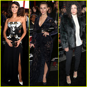 Nina Dobrev Gets Support from Julianne Hough & Jessica Szohr at 'xXx: Return of Xander Cage' Premiere