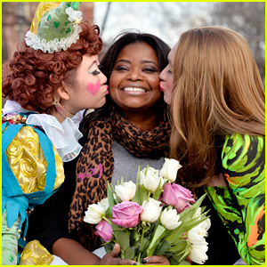 Octavia Spencer Has a Blast at Hasty Pudding Celebration!