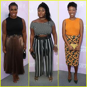 'OITNB' Stars Uzo Aduba, Danielle Brooks, & Samira Wiley Stun at Variety Brunch