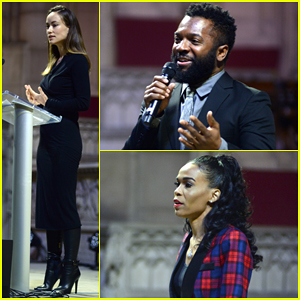 Olivia Wilde Recites Moving Michelle Obama Speech At MLK Now 2017!