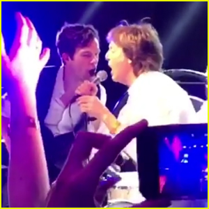 VIDEO: Paul McCartney Performs 'Helter Skelter' with The Killers at New Year's Eve Party!
