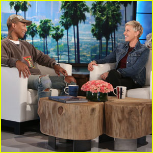 VIDEO: Pharrell Williams Agrees With Ellen DeGeneres' Decision Not To Have Kim Burrell On Her Show