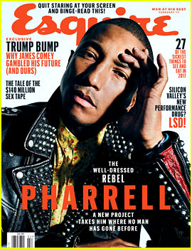 Pharrell Williams on Supporting Hillary Clinton: 'I Did It So I Could Sleep'