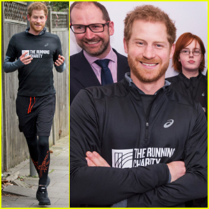 Prince Harry Goes For Jog With Homeless Youth In London!