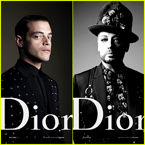 Rami Malek & Boy George Star in Dior Homme's New Campaign
