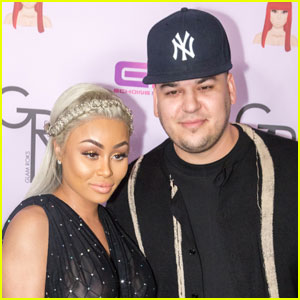 Rob Kardashian & Blac Chyna Celebrate One Year Together